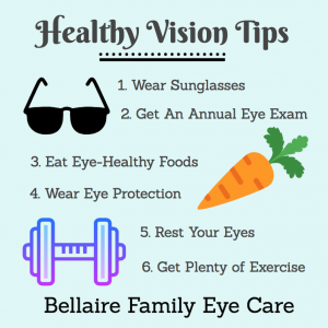 Healthy Vision Tips | Houston Eye Care